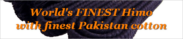 KendoStyle world's FINEST Himo with finest Pakistan cotton